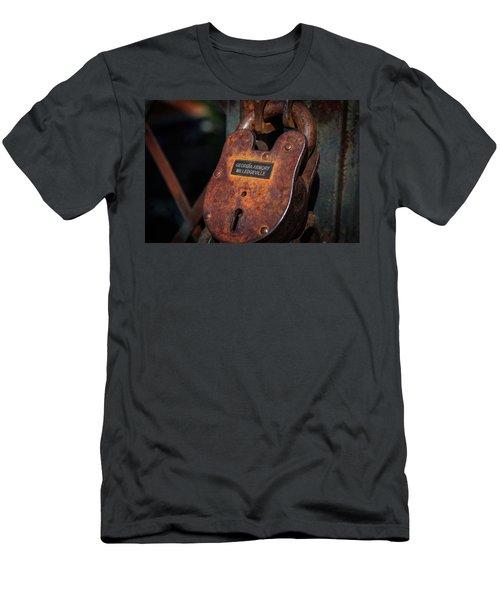 Rusty Lock Men's T-Shirt (Athletic Fit)
