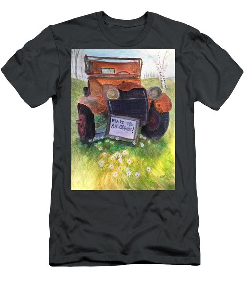 Rusty Old Relic Men's T-Shirt (Athletic Fit)