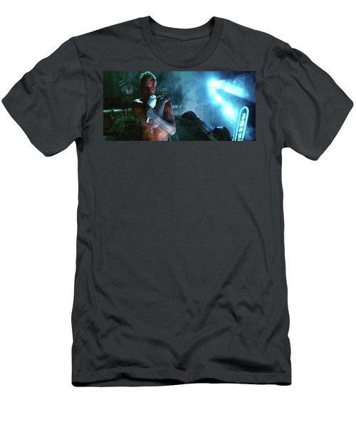 Rutger Hauer Number 2 Blade Runner Publicity Photo 1982 Color Added 2016 Men's T-Shirt (Athletic Fit)