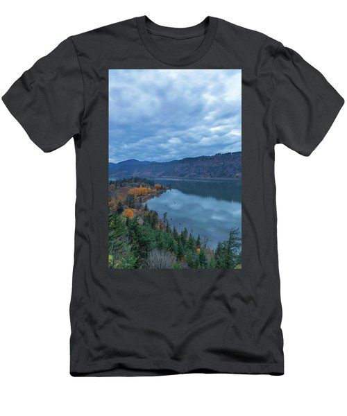 Ruthton Point During Evening Blue Hour Men's T-Shirt (Athletic Fit)
