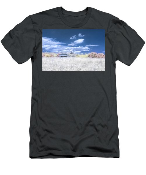 S C Upstate Barn Faux Color Men's T-Shirt (Athletic Fit)
