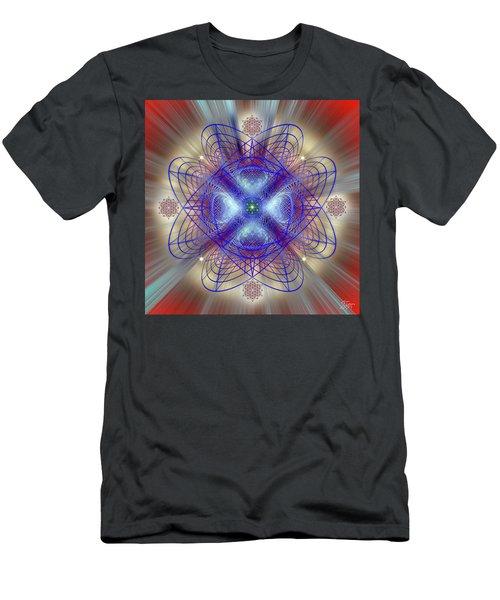 Sacred Geometry 656 Men's T-Shirt (Athletic Fit)