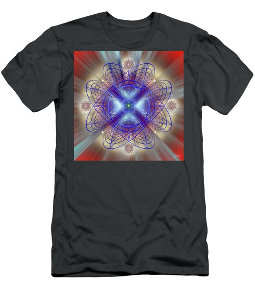 Sacred Geometry 656 Men's T-Shirt (Athletic Fit)