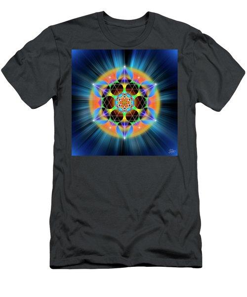 Sacred Geometry 709 Men's T-Shirt (Athletic Fit)