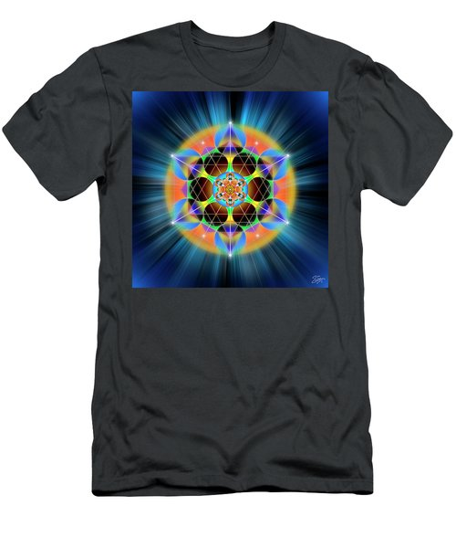 Sacred Geometry 709 Men's T-Shirt (Athletic Fit)