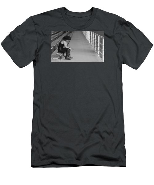 Sad Cowgirl Men's T-Shirt (Athletic Fit)