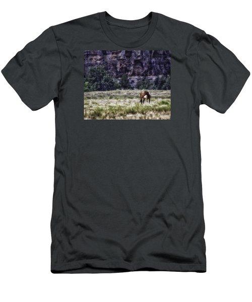 Safe In The Valley Men's T-Shirt (Slim Fit) by Elizabeth Eldridge