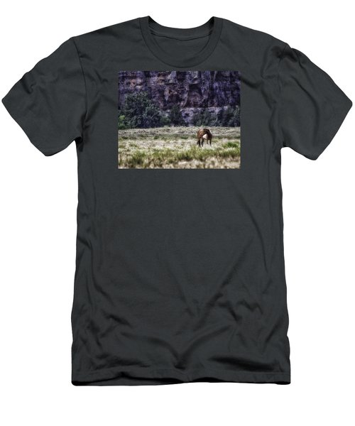 Safe In The Valley Men's T-Shirt (Athletic Fit)