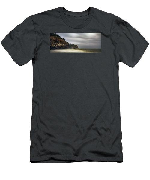 Safe  Passage Men's T-Shirt (Slim Fit)