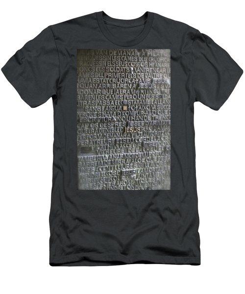 Sagrada Familia Doors Men's T-Shirt (Slim Fit) by Henri Irizarri