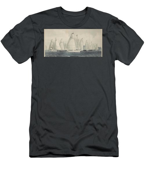 sail away by Currier Men's T-Shirt (Athletic Fit)