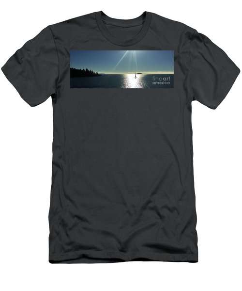 Sail Free Men's T-Shirt (Athletic Fit)