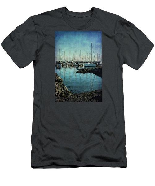 Marina - Digitally Textured Men's T-Shirt (Slim Fit) by Marilyn Wilson