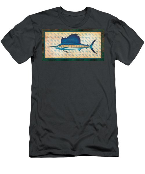 Sailfish Men's T-Shirt (Slim Fit) by Jon Q Wright