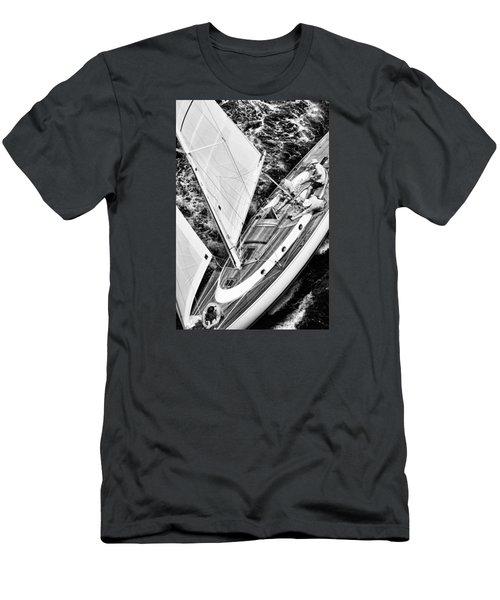 Sailing A Classic Men's T-Shirt (Athletic Fit)