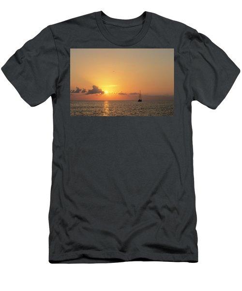 Crusing The Bahamas Men's T-Shirt (Athletic Fit)