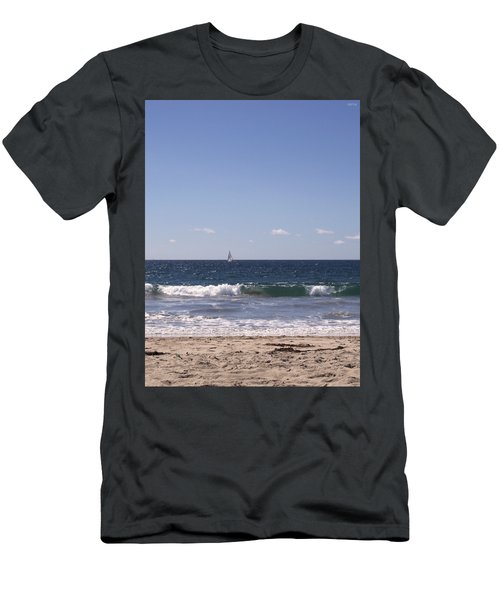 Sailing In California Sunshine Men's T-Shirt (Athletic Fit)