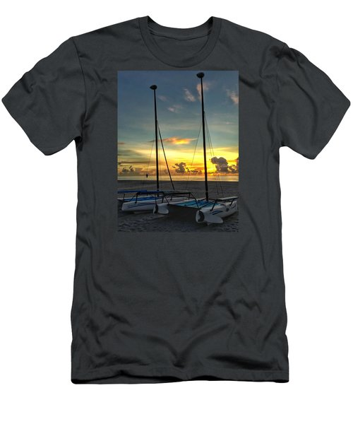 Sailing Vessels  Men's T-Shirt (Athletic Fit)