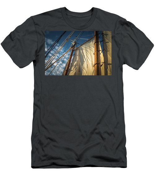 Sails In The Breeze Men's T-Shirt (Athletic Fit)