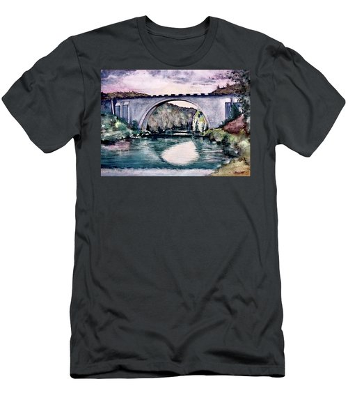 Saint Bridge Men's T-Shirt (Athletic Fit)