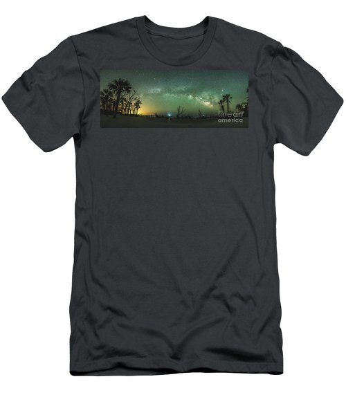 Saint Helena Island Milky Way Men's T-Shirt (Athletic Fit)