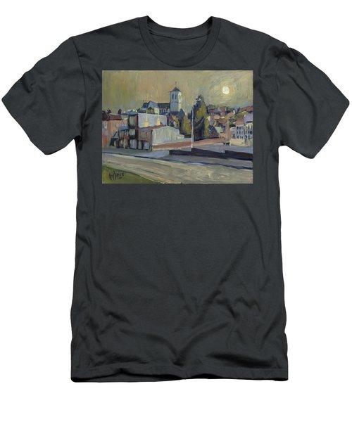 Saint Martin Basilique Liege Men's T-Shirt (Athletic Fit)
