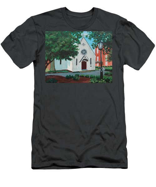 Saint Mary's Chapel Men's T-Shirt (Athletic Fit)