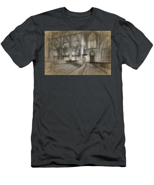 Saint Patrick's Cathedral In New York City Men's T-Shirt (Athletic Fit)