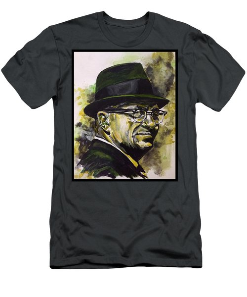 Men's T-Shirt (Athletic Fit) featuring the painting Saint Vince by Joel Tesch
