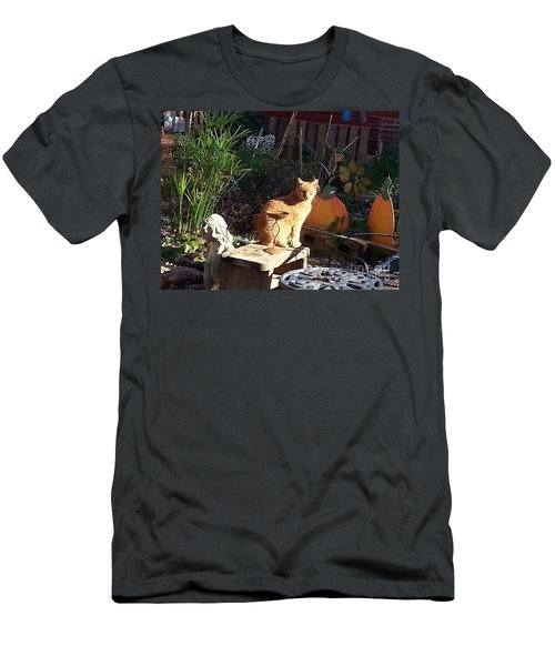 Salem In The Garden Men's T-Shirt (Athletic Fit)