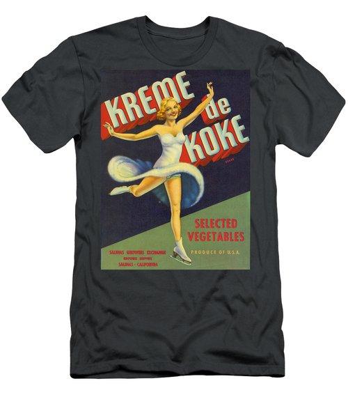Salinas Vegetable Crate Label Men's T-Shirt (Athletic Fit)