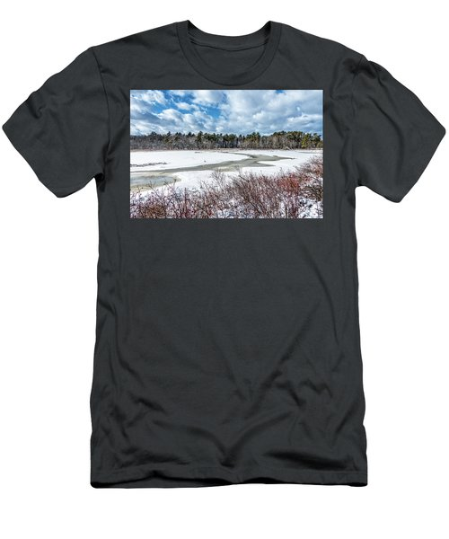 Salt Marsh Meander Men's T-Shirt (Athletic Fit)