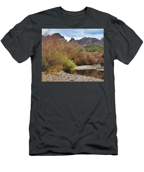 Salt River Pebble Beach Men's T-Shirt (Athletic Fit)