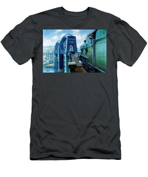 Saltash Bridge. Men's T-Shirt (Athletic Fit)