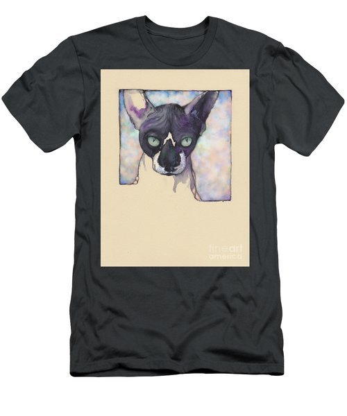 Sam The Sphynx Men's T-Shirt (Athletic Fit)