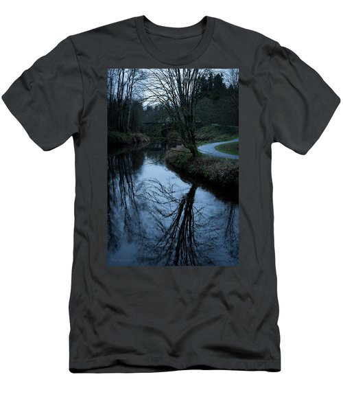 Sammamish River At Dusk Men's T-Shirt (Athletic Fit)