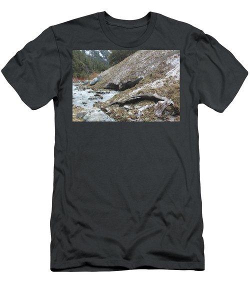 San Antonio Glacier Men's T-Shirt (Athletic Fit)