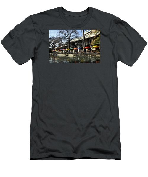 San Antonio River Walk 2 Men's T-Shirt (Athletic Fit)
