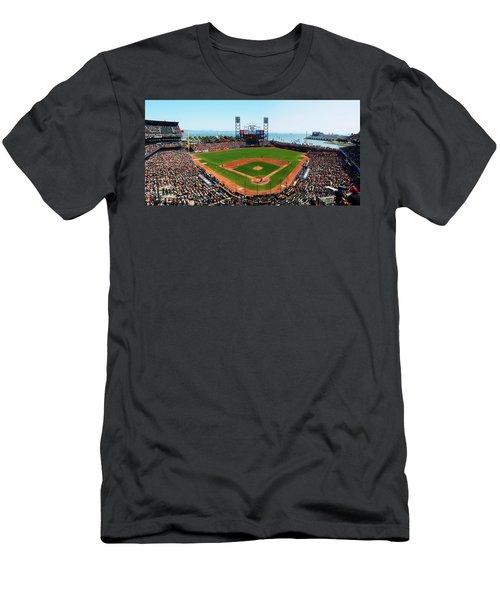 San Francisco Ballpark Men's T-Shirt (Athletic Fit)