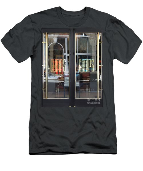 San Francisco Gumps Department Store Doors - Full Cut - 5d17094 Men's T-Shirt (Athletic Fit)