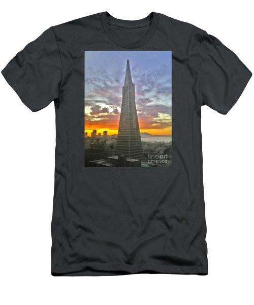 San Francisco Pyramid Men's T-Shirt (Athletic Fit)
