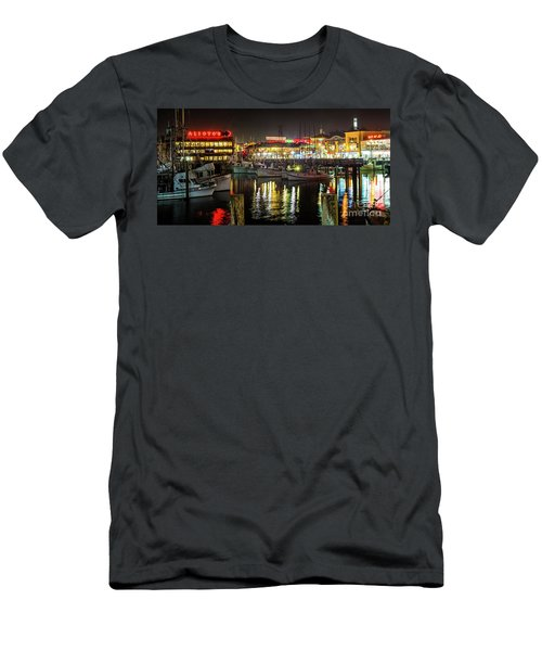 San Francisco's Fisherman's Wharf Men's T-Shirt (Athletic Fit)