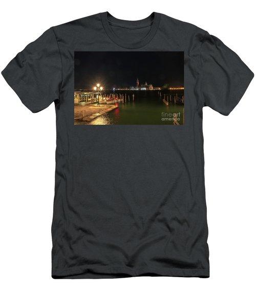 San Giorgio Maggiori At Night Men's T-Shirt (Athletic Fit)