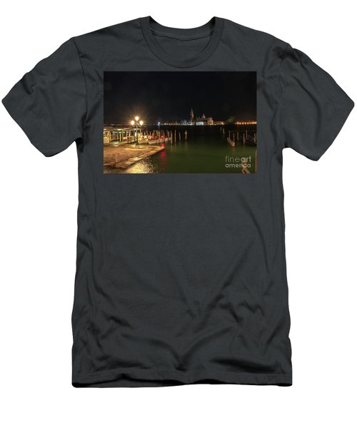 San Giorgio Maggiori At Night Men's T-Shirt (Athletic Fit)