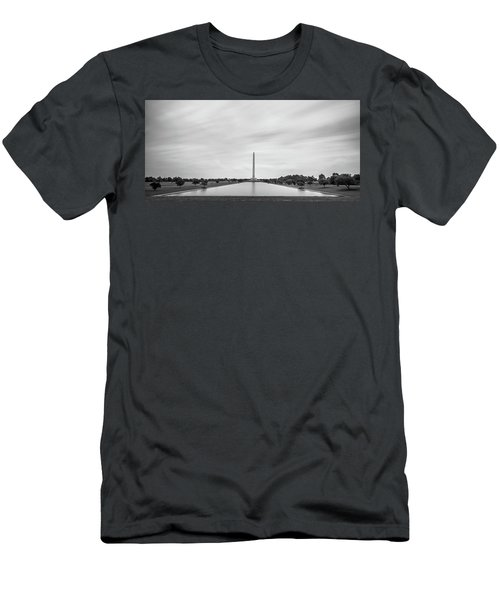 San Jacinto Monument Long Exposure Men's T-Shirt (Athletic Fit)