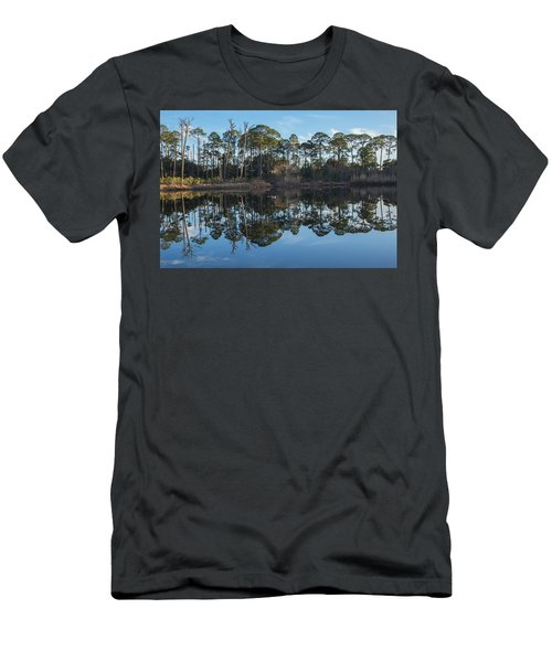 Men's T-Shirt (Athletic Fit) featuring the photograph Sanctuary Reflection  by Julie Andel