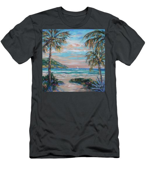 Sand Bank Bay Men's T-Shirt (Athletic Fit)