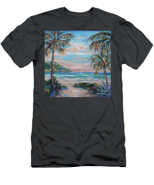 Sand Bank Bay Men's T-Shirt (Athletic Fit)