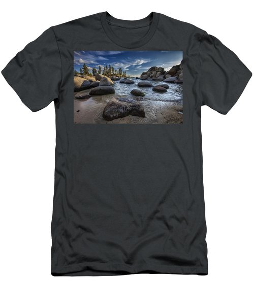 Sand Harbor II Men's T-Shirt (Athletic Fit)