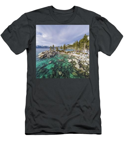 Sand Harbor Views Men's T-Shirt (Athletic Fit)